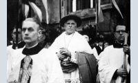 Galen bei seinem Empfang am 16. März 1946